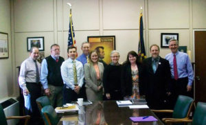 PAHIC board members with the PA Dept of Agriculture.